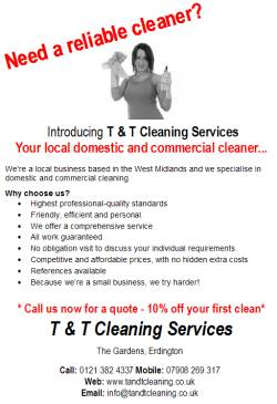 The uk ironing and cleaning service directory start your own 500 a5 flyers to promote your business pronofoot35fo Image collections